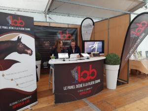 Stand Hippolia Lab Equi-meeting maréchalerie 2021